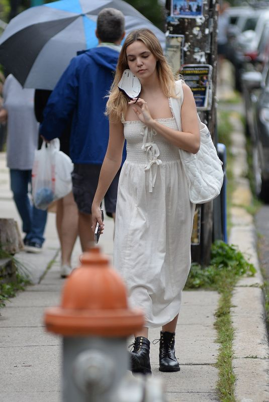 BAILEE MADISON Out Shopping in New York 08/29/2021