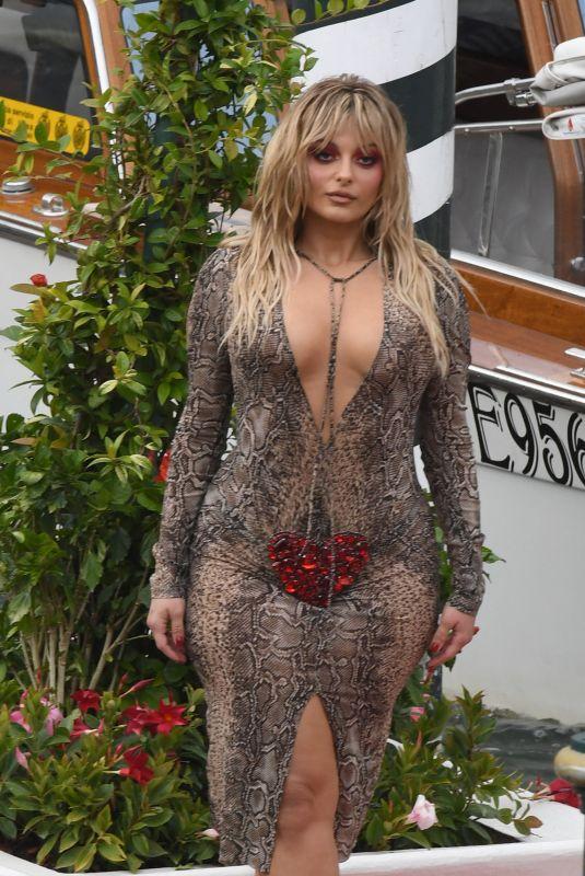 BEBE REXHA at Hotel Excelsior in Venice 08/30/2021