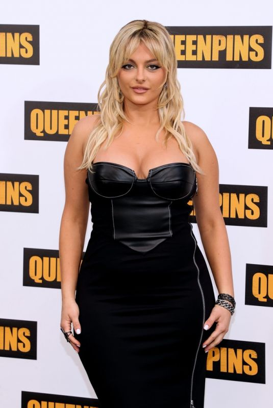 BEBE REXHA at Queenpins Photocall in Los Angeles 08/25/2021