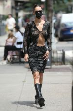 BELLA HADID Out and About in New York 08/01/2021