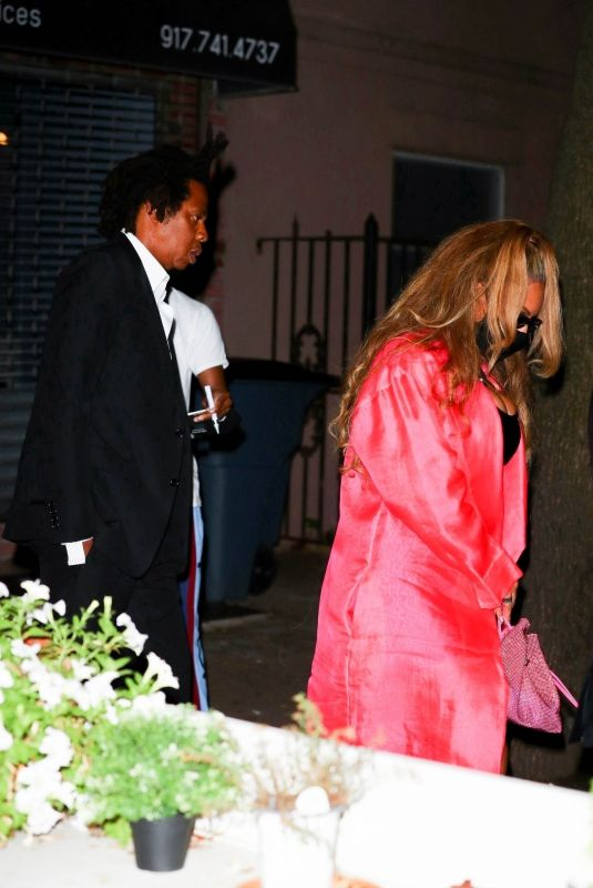 BEYONCE at Jay-Z's 40/40 Club 18th Anniversary in New York 08/28/2021
