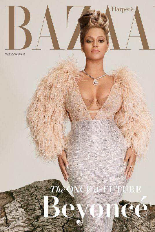 BEYONCE in Harper's Bazaar Magazine, September 2021