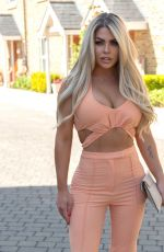 BIANCA GASCOIGNE Out and About in London 08/24/2021