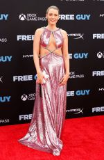 BLAKE LIVELY at Free Guy Premiere in New York 08/03/2021