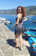 BLANCA BLANCO Out on Vacation in Italy 08/11/2021