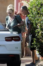 BRITNEY SPEARS Leaves Yoga Class in Hawaii 08/02/2021