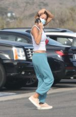 BROOKE BURKE Out and About in Malibu 08/30/2021
