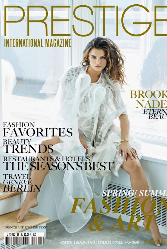 BROOKS NADER in Prestige Magazine, Summer 2021