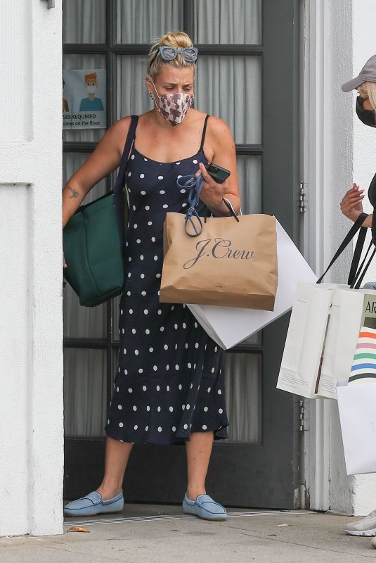 BUSY PHILIPPS at Her Stylists Office in Beverly Hills 08/11/2021