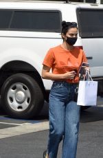 CAMILA MENDES Out for Coffee in Los Angeles 08/24/2021