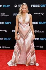 CAMILLE KOSTEK at Free Guy Premiere in New York 08/03/2021