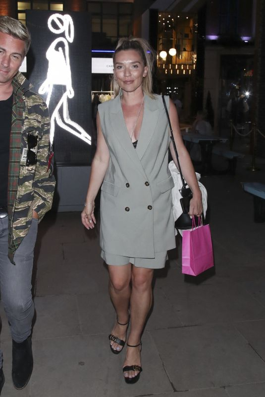 CANDICE BROWN Out at Carnaby Street in London 07/30/2021