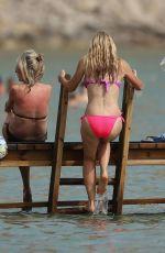 CAPRICE BOURRET in Bikini at a Beach in Ibiza 08/02/2021