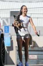 CARA SANTANA Leaves a Gym in West Hollywood 08/03/2021