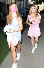 CARRIE BERK at BOA Steakhouse in West Hollywood 08/25/2021
