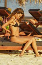 CHANTEL JEFFRIES in Bikini at a Beach in Mykonos 08/03/2021
