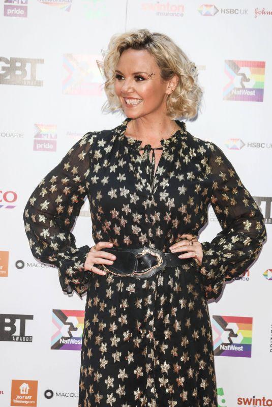 CHARLIE BROOKS at 2021 British LGBT Awards in London 08/27/2021