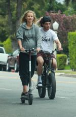 CHASE CARTER Goes for a Ride Around Studio City 08/18/2021