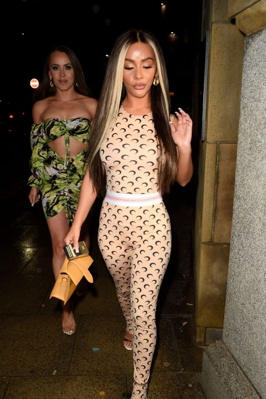 CHELSEE HEALEY at Rosso Restaurant in Manchester 08/07/2021