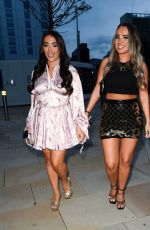 CHLOE BROCKETT Out with h Friend at Menagerie in Manchester 07/31/2021