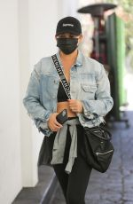CHRISSY TEIGEN Out and About in West Hollywood 08/27/2021