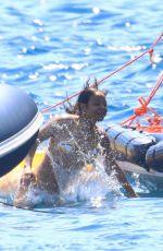 CHRISTINA MILIAN in Bikini at a Yacht in France 08/02/2021