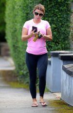COLEEN ROONEY Leaves Pilates Class in Alderley Edge 08/23/2021
