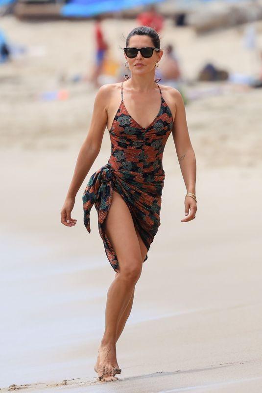 DANIELLE BUX Out at a Beach in Malibu 08/11/2021