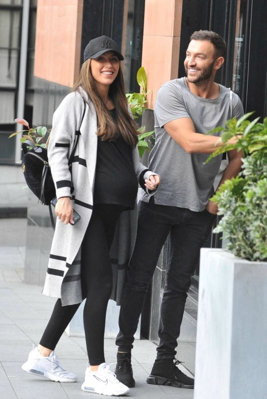 DARBY WARD and Michael Jackson Out in Manchester 08/23/2021