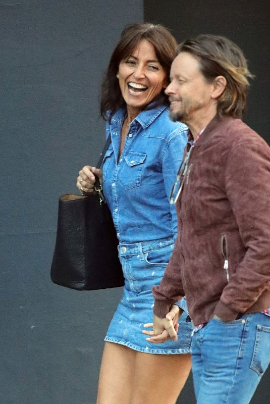 DAVINA MCCALL Out in Notting Hill 08/24/2021