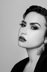 DEMI LOVATO and ALLIE MARIE EVANS -Black and White Photoshoot, August 2021