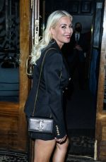 DENISE VAN OUTEN at Groucho Club in London 08/23/2021