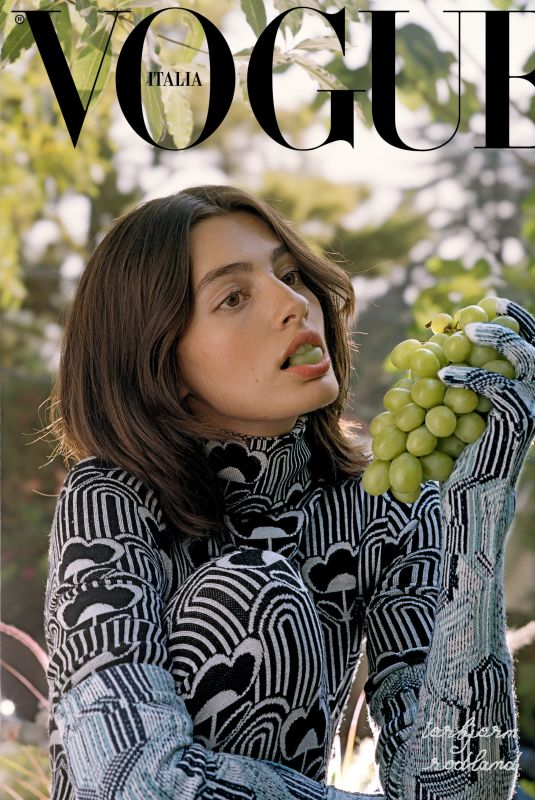 DIANA SILVERS on the Cover of Vogue Magazine, Italy September 2021