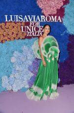 EIZA GONZALEZ at LUISAVIAROMA for UNICEF in Capri 07/31/2021