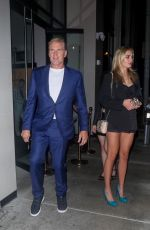 EMMA KROKDAL and Dolph Lundgren at Catch LA in West Hollywood 07/31/2021
