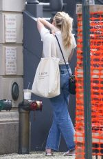 EMMA ROBERTS in Denim Out in New York 08/07/2021