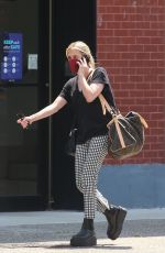 EMMA ROBERTS Out and About in New York 07/30/2021