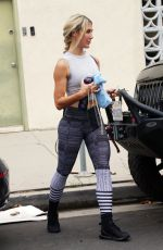 EMMA SLATER Leaves at a Gym in Los Angeles 08/21/2021