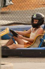 EMMA WATSON at Go Karting in Ibiza 08/13/2021