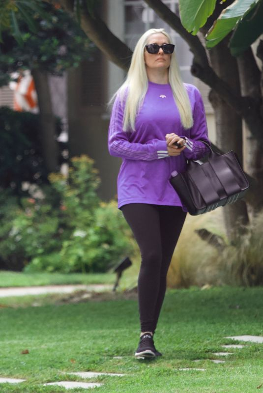 ERIKA JAYNE Out and About in Beverly Hills 08/26/2021
