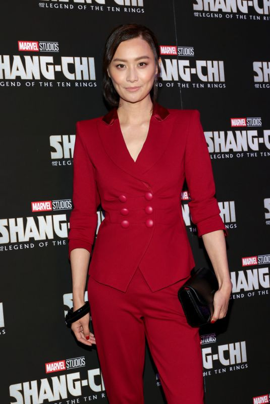 FALA CHEN at Shang-Chi And The Legend Of The Ten Rings Screening in New York 08/30/2021