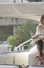 FARRAH ABRAHAM at a Yacht in Tulum 08/06/2021