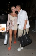 GABBY ALLEN and Brandon Myers at Sumisan Twiga in London 08/13/2021