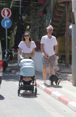 GAL GADOT Out in Tel Aviv 08/28/2021