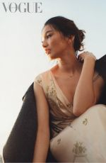 GEMMA CHAN for Vogue Magazine, UK September 2021