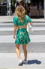 GIADA DE LAURENTIIS Out for Lunch in Beverly Hills 08/03/2021