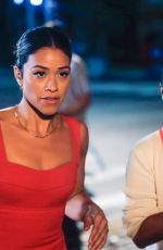 GINA RODRIGUEZ and LIZA KOSHY on the Set of Players in New York 08/05/2021