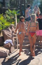 HALEY KALIL in Bikii at Elia Beach Club in Las Vegas 08/29/2021