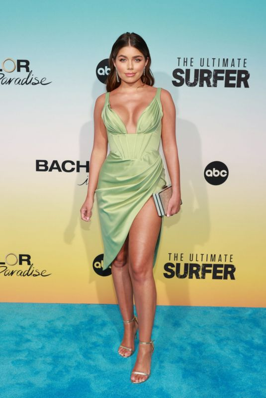 HANNAH ANN SLUSS at Bachelor in Paradise and The Ultimate Surfer Premeire in Santa Monica 08/12/2021