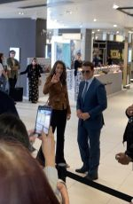 HAYLEY ATWELL and Tom Cruise on the Set as Mission Impossible 7 in in Brimingham 08/22/2021